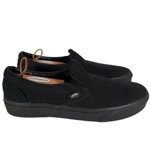Vans Mens Off The Wall  Black  Slip On shoes 10.5